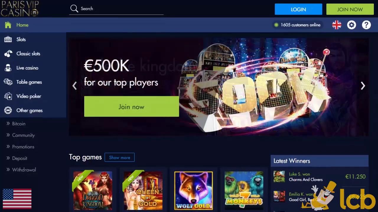 Revue casino Paris Vip : notre avis détaillé